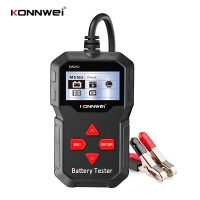 Buy cheap LCD Screen Auto Digital Battery Tester 12V With Printer For Gas Diesel Hybrid Electric Car from wholesalers