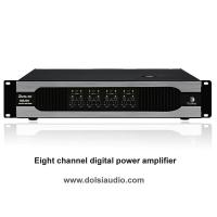 Buy cheap Eight channel digital pro audio power amplifier from wholesalers