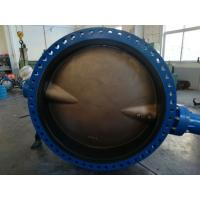 Buy cheap Awwa C504 Ductile Iron DI/CI A536 Nbr Rubber Seated Flanged Butterfly Valve from wholesalers