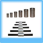 Buy cheap steel rebar coupler, rebar threaded coupler, rebar splicing coupler, rebar coupler machine D12-50 from wholesalers