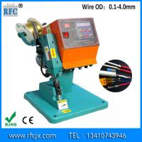 Buy cheap Hot sale mute earphone or usb cable splice of copper splice machine from wholesalers