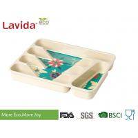 Buy cheap Professional Restaurant Use Bamboo Lunch Trays Non - Toxic Environmental Friendly from wholesalers