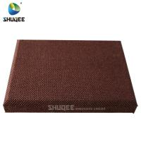 Buy cheap Cinema Indoor Walls Acoustic Fabric Panels Eco Protection  Fireproof from wholesalers