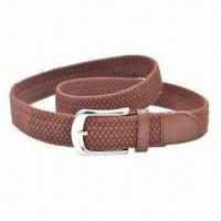 Buy cheap Casual Braided Elastic Jeans Belt for Men and Women, Available in Mandy Colors from wholesalers