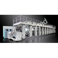 Buy cheap Shaftless Drive Gravure Printing Press Machines 300m / min High Speed from wholesalers