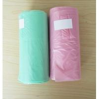 Buy cheap 12 Micron 30L T Shirt Plastic Garbage Bags HDPE Material Blue Colour 460 * 560mm product