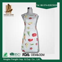Buy cheap Womens / Mens Home Cooking Cotton Bib Aprons Vegetable Printed 70x80cm from wholesalers