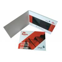 Buy cheap Whole world Regional Feature and Greeting Card Card Type LCD video brochure card from wholesalers