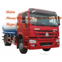 Buy cheap SINOTRUK HOWO Euro Ⅱ Diesel Engine 4x2 Oil Tanker Truck 10,000 Liters from wholesalers