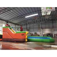 Buy cheap Amusement Park Slide Durable Inflatable Water Fun Special For Kids / Adults from Wholesalers