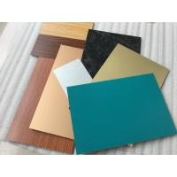 Buy cheap Black PVDF Paint ACM Wall Panels , Lightweight Aluminum Metal Cladding Material product