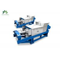 Buy cheap Spring Adjustable Sludge Dewatering Machine 3Kw Power Wide Extracting Ratio from wholesalers
