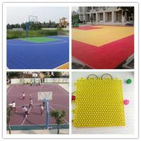 Buy cheap Portable Basketball Court Flooring Polypropylene from wholesalers