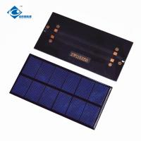 Buy cheap 1.0W solar panel photovoltaic for Mini home solar energy systems ZW-11558 UV Lightweight Silicon Solar PV Module product