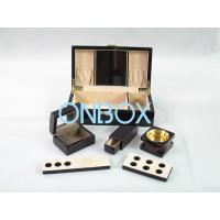 Buy cheap Painted Wooden Boxes Packaging For Aromer Burner Set , Women Perfume Gift Sets from wholesalers