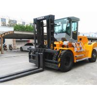 Buy cheap 20 Ton Forklift Equipment Rental , Heavy Duty Forklift For Stations Chinese Engine from wholesalers