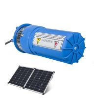 Buy cheap Submersible DC Solar Water Pump Livestock Watering Irrigation Stainless Steel from wholesalers
