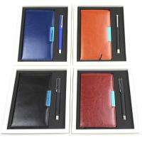 Buy cheap A6 PU Notebook/Pen for gift set from wholesalers