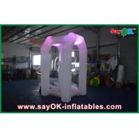 Buy cheap White Cube Inflatable Air Tent , Money Catching Booth Machine For Fun from wholesalers