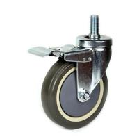 Buy cheap 75mm PU shopping trolley Caster from wholesalers