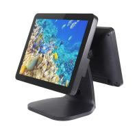 Buy cheap Aluminum Dual Touchscreen Tablet Pos System , Fanless Cpu Motherboard Liquor Store Pos System from wholesalers
