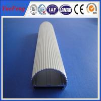 Buy cheap Half round aluminium profiles and hollow extruded aluminum design for led from wholesalers