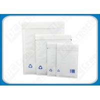 Buy cheap White Kraft Paper Padded Mailing Bubble Envelopes / Printing 6 × 9 Padded Envelopes from wholesalers