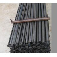 Buy cheap Steel drill rod 2.5mm Thickness Split Set Rock Bolts , 43mm * 1.5meter Galvanized Steel Rod from wholesalers