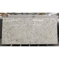 Buy cheap Golden Beige Artificial Quartz Stone Flooring 1.6cm / 1.8cm Thickness from wholesalers