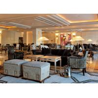Buy cheap Wooden Frame Waiting Area Hotel Lobby Furniture Different Style High Standard from wholesalers