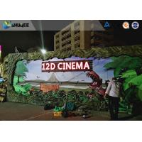 Buy cheap Realistic Multidimensional Dinosaur 12D Movie Theater With Luxurious Seats product