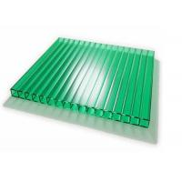 Buy cheap Lightweight Double Wall Polycarbonate Greenhouse Panels Uv Protection from wholesalers