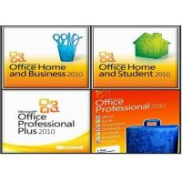 Buy cheap Microsoft Office 2010 Product Key Card PKC For Microsoft Office 2010 Professional FPP Online Activation from wholesalers