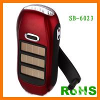 Buy cheap Anfly Flash Light Solar LED rechargeable solar powered emergency flashlight from wholesalers