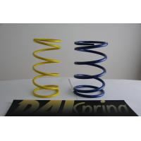 Buy cheap Heat resistance SWPA yellow / blue light duty compression springs / compression coil spring from wholesalers