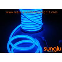 Buy cheap AC 110V 14W Blue 60D LED NEON Rope Light SMD 5050 For Walkways / Decks from wholesalers