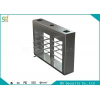 Buy cheap Half  Height Automatic Turnstiles Security Pedestrian Gate Access Control Turnstar from wholesalers