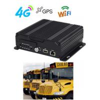 Buy cheap 1080P 4G 3G GPS WIFI Dual SD Card Mobile Vehicle DVR  H.264 For Bus product