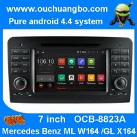 Buy cheap Ouchuangbo android 4.4 Mercedes Benz W164 X164 audio gps radio video player with iPod SD from wholesalers