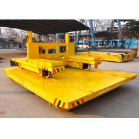 Buy cheap Wide gauge electric ferry rail traverser for bay to bay material handling from wholesalers