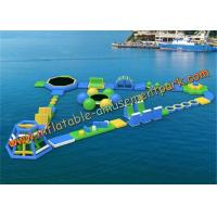 Buy cheap Commercial Outdoor Inflatable Floating Water Park Equipment in Hotels from wholesalers