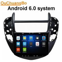 Buy cheap Ouchuangbo car radio video android 6.0 for Chevrolet Trax 2014 with capacitance multiple touch screen gps navigation from wholesalers