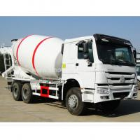 Buy cheap 336hp Engine 6×4 Howo Concrete Mixer Truck Steel Structure With 10cbm Tanker from wholesalers