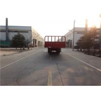 Buy cheap 3 Axles Steel Flatbed Semi Trailer Mechanical Suspension Leaf Spring 13mmx90mm from wholesalers