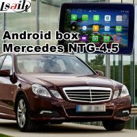 Buy cheap Mercedes - benz E class Automobile GPS Navigation Systems video interface from Wholesalers