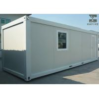 Buy cheap Standard Prefabricated Container House , Modular Container House With Typical Configuration from wholesalers
