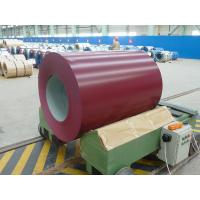 Buy cheap DX51D+Z PE Resin Painted Color Coated Galvanized Steel Coil for roofing from wholesalers