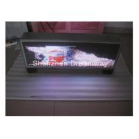 Buy cheap MOV DAT Video PH5 Taxi Top LED Display Advertising Waterproof , Automatic Brightness Adjusting from wholesalers