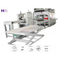 Buy cheap Automatic High Frequency Wood Joining Machine 1220×5200 mm Working Area from wholesalers