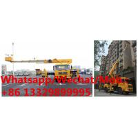 Buy cheap high quality dongfeng tianjin 4*2 28m telescopic crane boom lift bucket truck for sale, HOT SALE! telescopic aerial work product